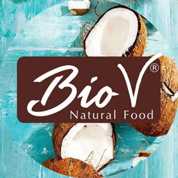 Logotipo de marca BioV, para directorio Dancaru.com