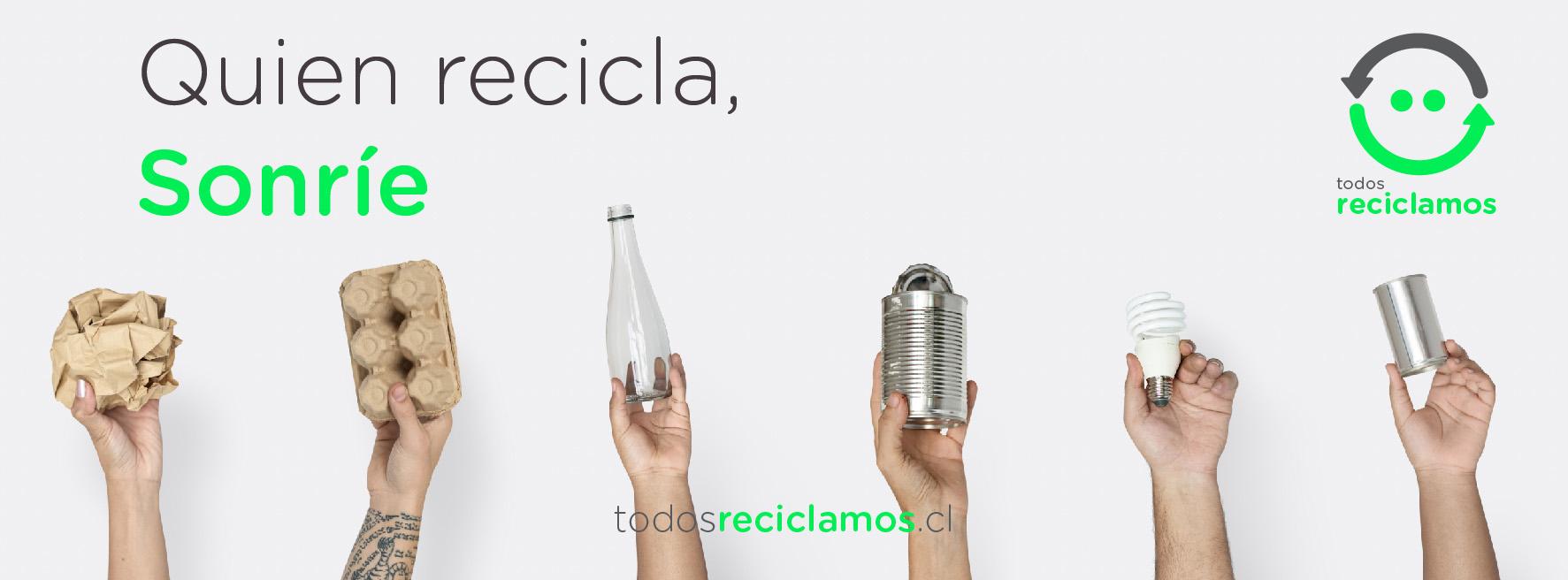 Marca TodosReciclamos, para directorio Dancaru.com